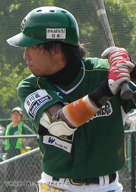 香川OG在籍時の亀澤選手